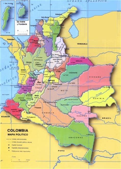 CLASES DE TATIS: DIVISIÓN POLÍTICA DE COLOMBIA