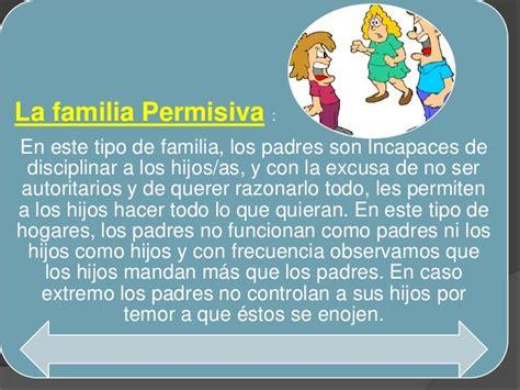 Clases y tipo de familia