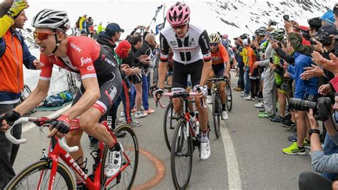 Clasificación de la etapa 18 del Giro de Italia