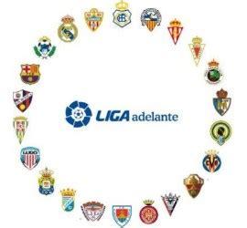 Clasificación Segunda División Fútbol - Liga Adelante