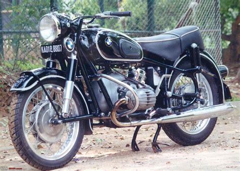Classic bmw motorbike