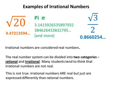 Classification of the Real Number System   ppt video ...