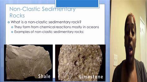 Clastic vs Non clastic sedimentary rock   YouTube