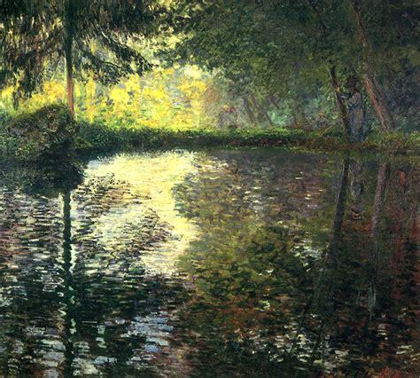 Claude Monet - El estanque de Montgeron