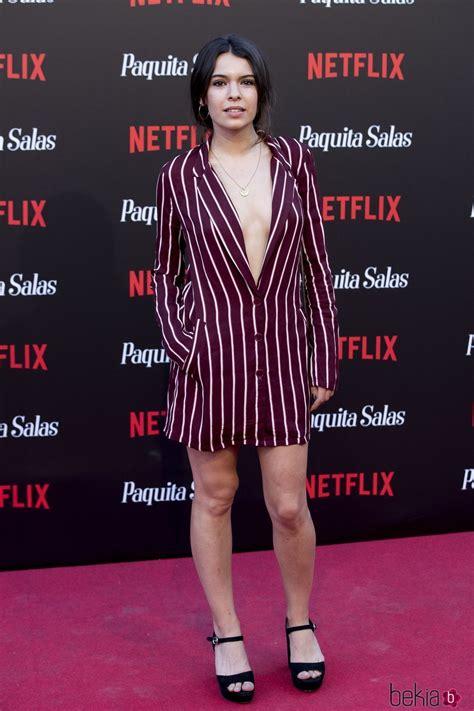 Claudia Traisac en la premiere de la segunda temporada de ...