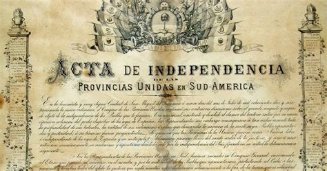 Claudio Tomassini: Independencia de Argentina 9 de julio ...