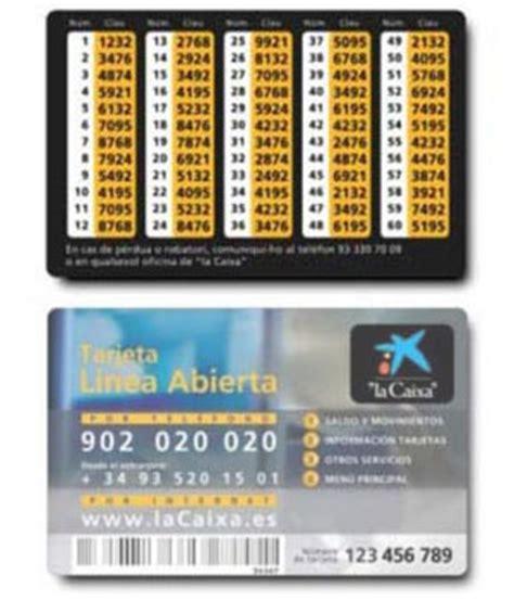 Claves de acceso a Línea Abierta   CaixaBank