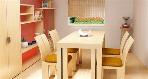 Claves para crear un salón comedor pequeño