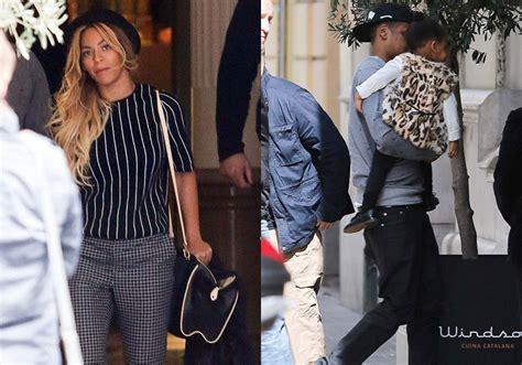 Clicados: Beyoncé, Jay Z e Blue Ivy em Barcelona  25/03 ...