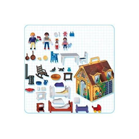 clicks playmobil 4145 casa de muñecas maletín