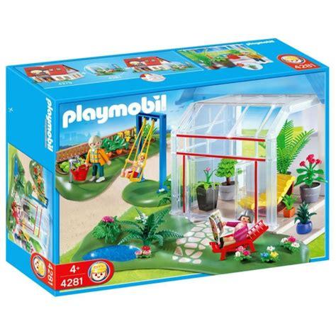 clicks playmobil 4281 invernadero y jardin