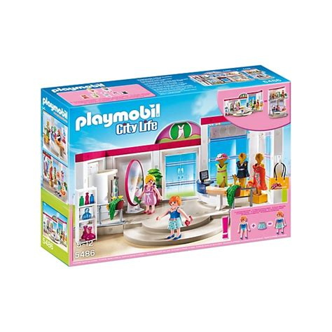clicks playmobil 5486 tienda de ropa