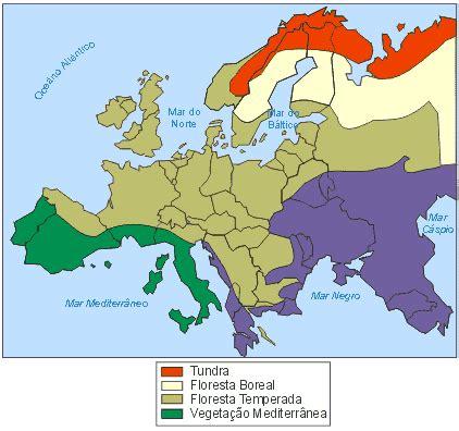 Clima e Vegetação da Europa: aula grátis de Geografia Enem ...