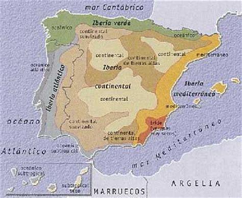 Climas de la Península Ibérica