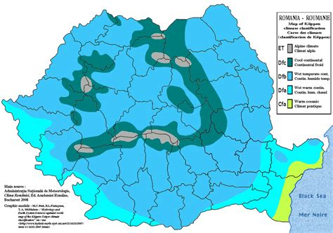 Climate of Romania   Wikipedia