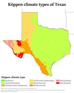 Climate of Texas - Wikipedia