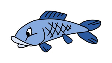 Clipart   Cartoon fish