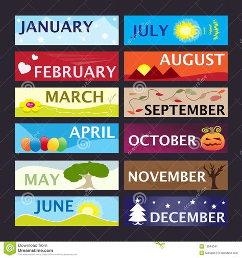 Clipart month of the year   BBCpersian7 collections