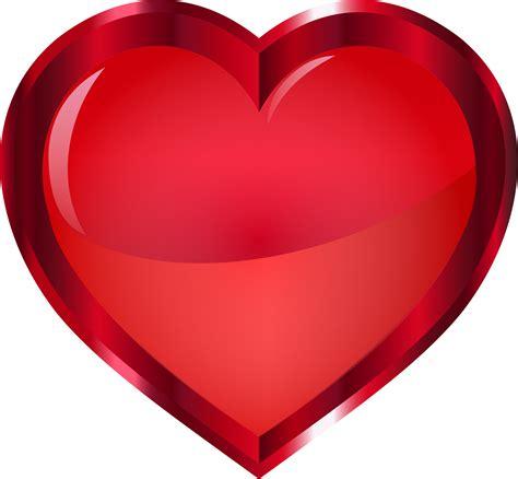 Clipart   Vermilion Heart