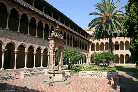 Cloister of the Monestir de Pedralbes   Barcelona Pictures