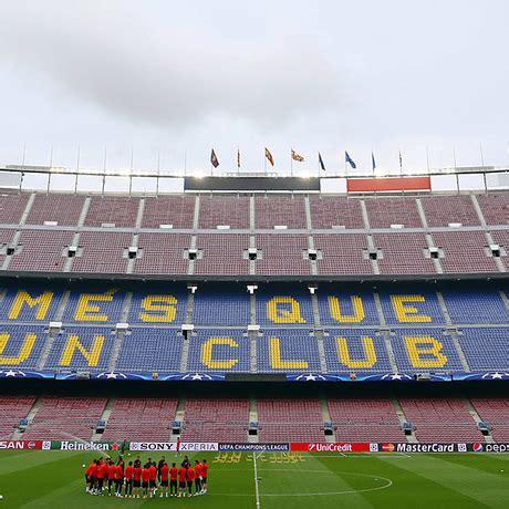 Club Atlético de Madrid - Último ensayo en el Camp Nou