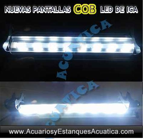 COB LED PANTALLA LEDs BLANCOS PARA ACUARIOS - Acuarios y ...