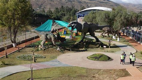 #cochabamba parque de dinosaurios busca incrementar el ...
