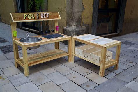 Cocina de juguete con palets - Pol - Paletos
