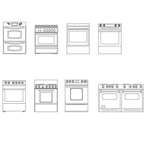 Cocina, estufas | CadBloques.com
