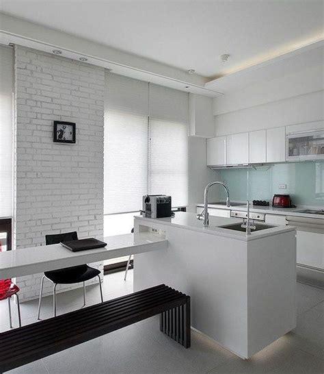 cocina ladrillo visto blanco   Buscar con Google | cocina ...