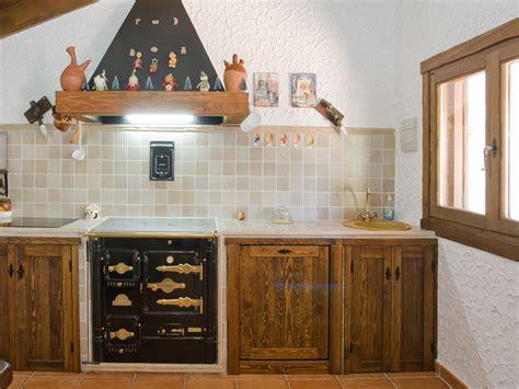 Cocina rústica para bodega | Chm