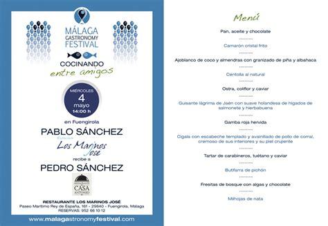 Cocinando entre amigos: Pablo Sánchez y Pedro Sánchez ...