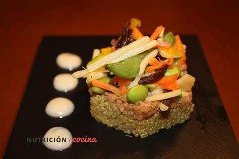 Cocinar quinoa con soja texturizada   Nutricion y Cocina