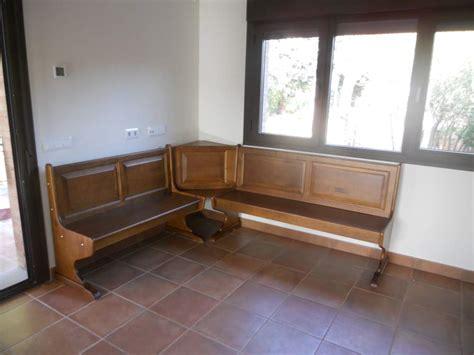 Cocinas / Bodegas 26 /1: Banco rinconera de madera maciza ...