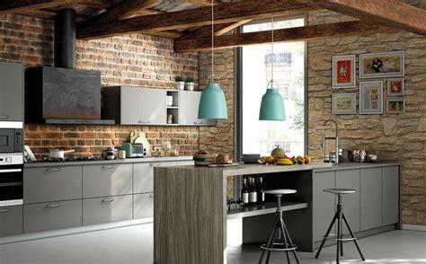 Cocinas con pared de ladrillo visto | Docrys Cocinas