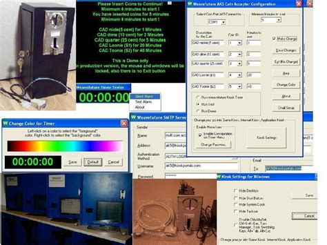 Coin Op Internet Cafe Kiosk Game Timer - Turn your PC into ...