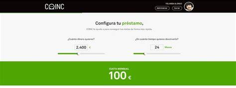 COINC amplía su oferta con préstamos personalizados de ...