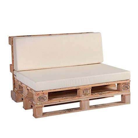 Cojines para palets: asiento y respaldo | Hogar Tapizado