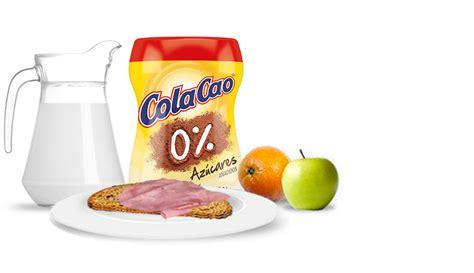 Cola Cao 0% y Cola Cao 0% Fibra
