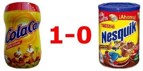 Cola Cao VS Nesquik, la batalla definitiva | ion litio