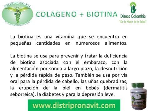 COLAGENO + BIOTINA