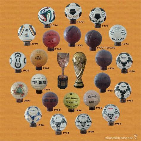 coleccion balones mundiales desde 1930 - 2014 ( - Comprar ...