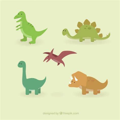 Colección de dinosaurios monos | Descargar Vectores gratis