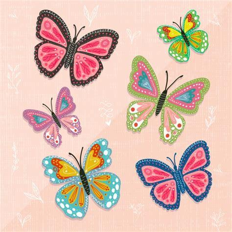 Colección de mariposas a color | Descargar Vectores gratis