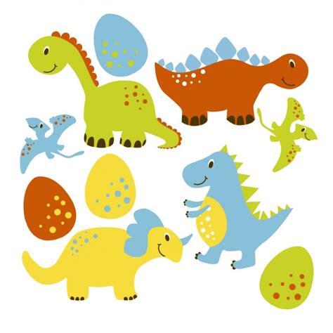 Colección de simpáticos dinosaurios | Descargar Vectores ...