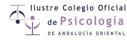 Colegio Oficial de Psicología de Andalucía Orienta