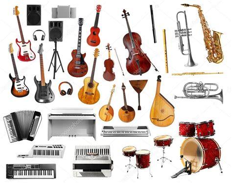 collage de instrumentos musicales — Foto de stock ...