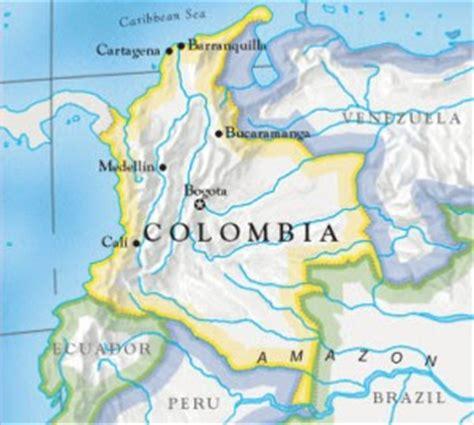 Colombia Estructurada: Hidrografía