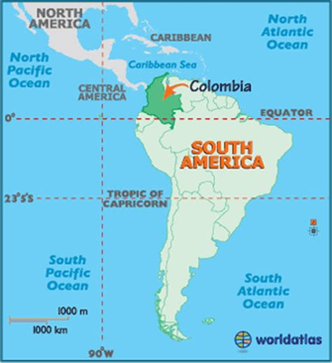 Colombia Map / Geography of Colombia / Map of Colombia ...