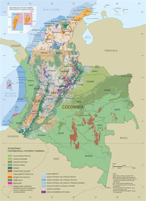 Colombia Naturaleza en riesgo | Colección Ecológica Banco ...